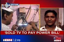 Delhi: Man sells TV to pay Rs 4500 electricity bill