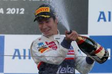 First podium finish for Kamui Kobayashi at Japanese GP