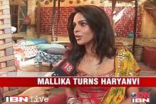 Watch: Mallika Sherawat talks in Haryanvi