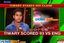 Manoj Tiwary knocks at the Test door
