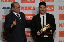 Messi awarded Golden Boot as Europe's top scorer