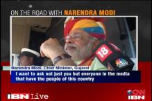 Narendra Modi says his focus is Gujarat, not Delhi