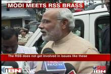 Modi-RSS meet: 'PM candidate discussion after Guj polls'