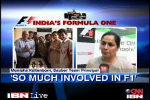 Indian GP 2012: Formula One fever hits schools