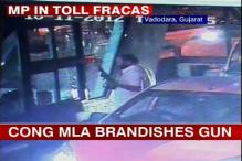 Cong MP caught on CCTV threatening toll booth personnel