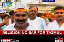 Mohd Tazmul is defying clerics to worship Goddess Durga