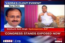 Robert Vadra: Congress stands exposed now, says BJP