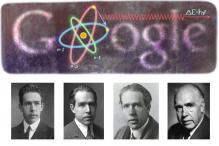 Google doodles physicist Niels Bohr's 127th birthday