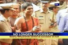 Nithyananda sacked as Madurai Mutt successor