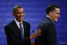 Romney targets Obama, says words need to be backed by deeds