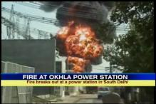Fire at Okhla power station, 12 fire engines at the spot