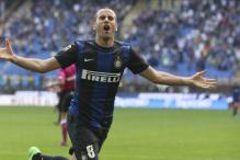 Inter join Lazio in third after easy win over Catania