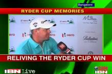 Peter Hanson relives Ryder Cup win