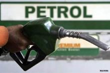 Petrol price cut by 56 paise per litre