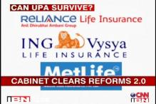 UPA goes ahead with reforms, clears 49 pc FDI in pension, insurance