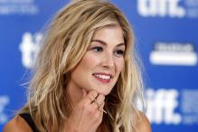Bond Girl tag is annoying: Rosamund Pike