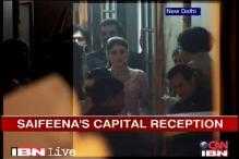 Rahul Gandhi attends Saif, Kareena's reception