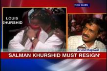 Khurshid, wife to face more heat as IAC plans protests
