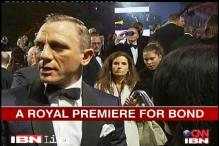 Stars light up the 'Skyfall' world premiere in London
