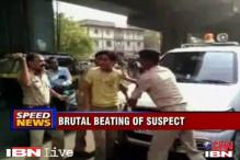 Surat: Video shows IPS officer thrashing a thief