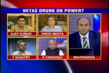 Is our elected class drunk on power?