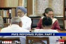 Important reforms on UPA govt's agenda
