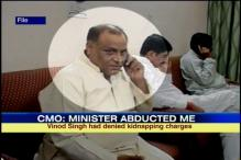 UP CMO 'abduction': Minister Vinod Kumar Singh resigns