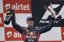 Vettel zips home to win Indian GP 2012