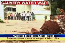 Cauvery row: Protesters attack Wipro office amidst bandh