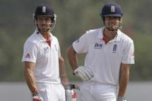 In pics: England XI vs Haryana, day one