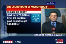 2G auction: Govt will go back to TRAI and seek new direction