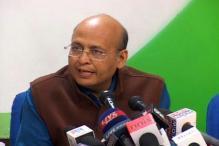 Abhishek Singhvi back as Congress spokesperson