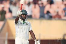 Tailender Abul Hasan scores century on Test debut