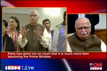 LK Advani says he doesn't want to be PM