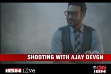 Watch: Behind the scenes with Ajay Devgan