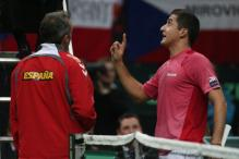 Corretja defends his decision to pick Almagro for final