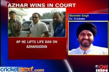Andhra High Court lifts ban on Mohd Azharuddin