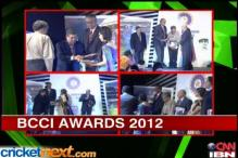 Glimpses of BCCI Awards ceremony