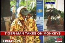 'Tigerman' takes on monkeys at Bangalore University