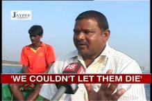 Cyclone Nilam: Fishermen jumped into the sea to save sailors