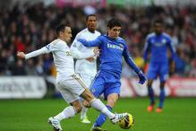 Chelsea lose top spot after 1-1 draw at Swansea