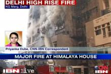 Delhi building fire: 1 dead, 38 fire engines battle the blaze