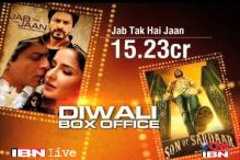 Box office report: 'Jab Tak Hain Jaan' leads 'Son of Sardar'