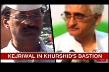 Kejriwal heads to Khurshid's bastion Farrukhabad