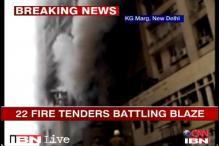 Delhi: Himalaya House fire, 38 fire engines battle the blaze