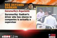 Nitin Gadkari legally and morally clear, says RSS