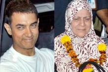 Photos: Aamir Khan returns from Haj with his mother