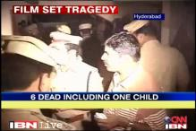 Hyderabad film set fire: Death toll rises to 6