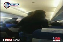 Watch: Passenger turns violent, slaps air hostess on board IndiGo flight