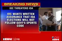 IOC warns IOA of possible disaffiliation